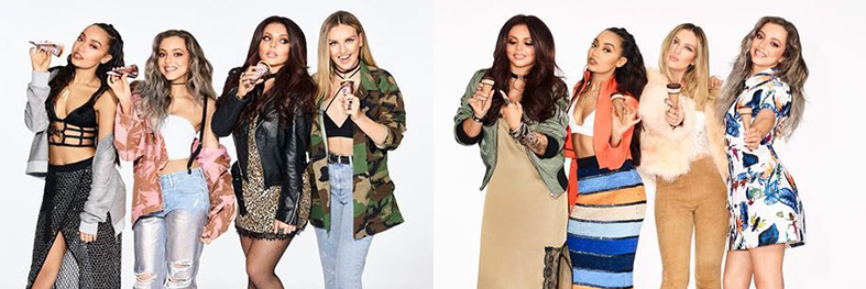 Little Mix for Cornetto: video and photos