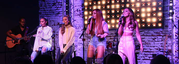 #VIDEOS: Little Mix at Mix 106.5 Live Stream (28.02)