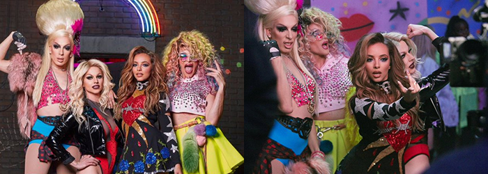 #POWER – New bts photos: Jade x the Triple A Girls