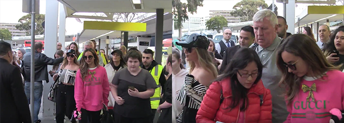 #VIDEO: Little Mix at Melbourne Airport (21.07)