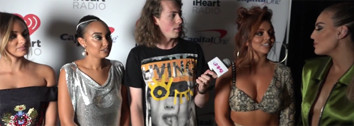 J-14's Liam McEwan with Little Mix – Interview