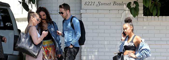 Leaving the Chateau Marmont in Los Angeles (20.04)