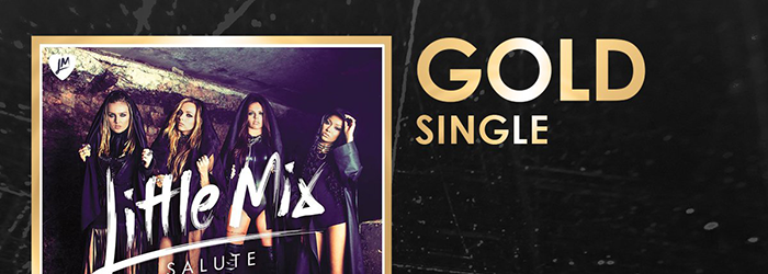 'Salute' is now Gold selling single!