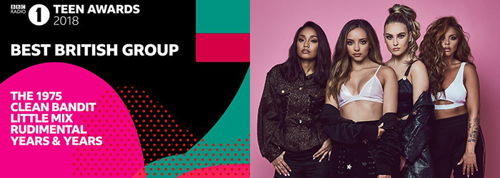 BBC Radio 1's Teen Awards: Nomination for Best British Group