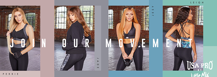 USA Pro x Little Mix is now available at Sports Direct!