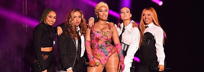 "Nicki Minaj & Little Mix ""Good Form / Woman Like Me"" Live | MTV EMAs 2018"