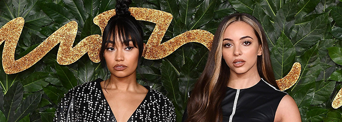 Jade and Leigh-Anne at The British Fashion Awards (10.12)